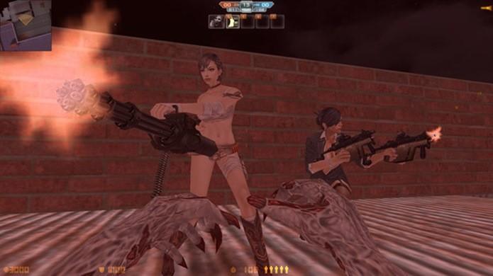 Ao ser morto por um zumbi, você se torna um deles e deve caçar seu ex-time (Foto: Divulgação)