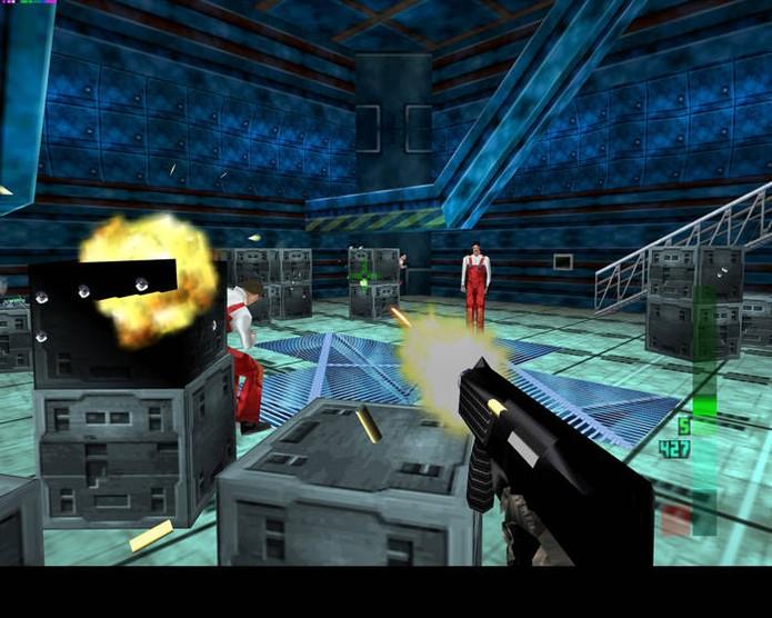 Perfect Dark abusava do poder do console (Foto: Reprodução)