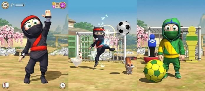 Jogue bola como um ninja em nova atualização (Foto: Divulgação)