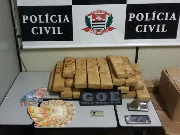 Policias chegaram até o local por meio de uma denúncia anônima (Foto: Divulgação / Polícia Civil)