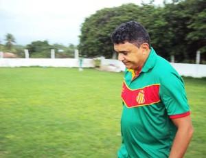 Técnico Flávio Araújo diz que foco agora é o Maranhense  (Foto: Afonso Diniz/Globoesporte.com)