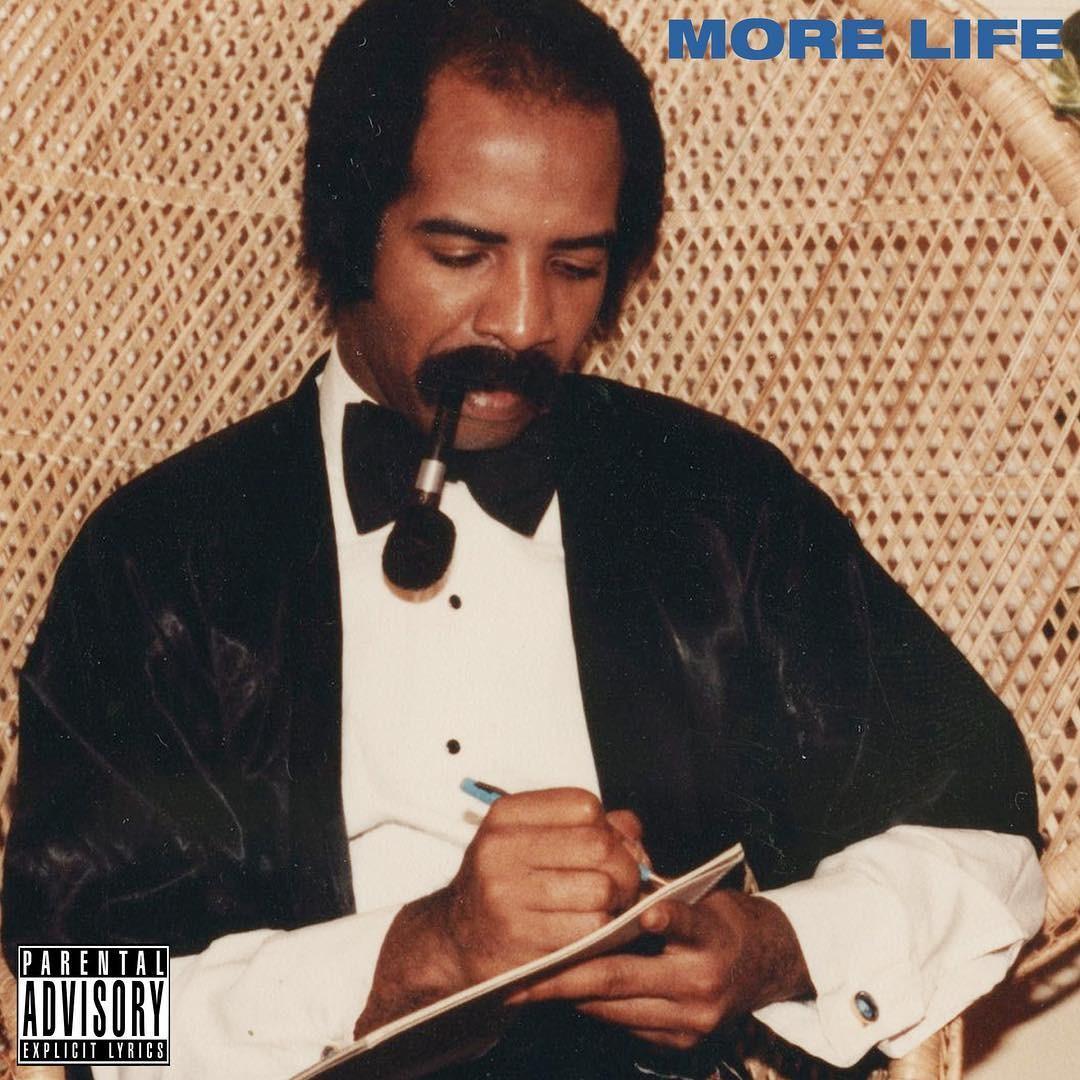 'More Life', novo disco de Drake,  o disco mais ouvido no dia de estreia da histria das plataformas de streaming (Foto: Divulgao)