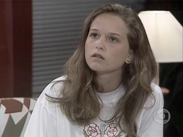 A atriz em A Viagem  (Foto: Memória Globo)