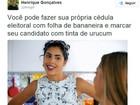 Voto de papel nas eleições de 2016 vira piada nas redes sociais