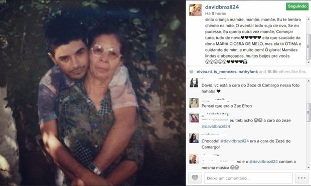 David Brazil instagram (Foto: reprodução/instagram)