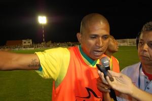 Bombinha, atacante do Campinense (Foto: Silas Batista / GloboEsporte.com)