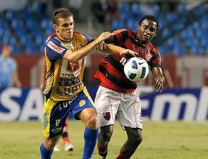 Willians do Flamengo contra o Horizonte (Foto: Maurício Val / VIPCOMM)