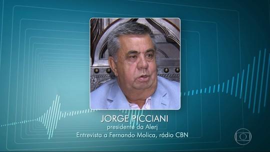 Pezão diz que 'está trabalhando em acordo com União' e não vai comentar declaração de Picciani