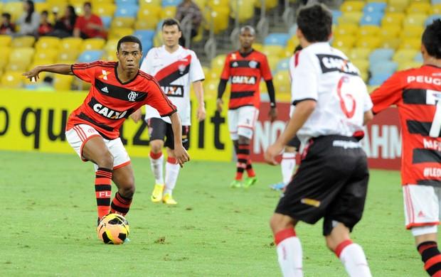 Elias jogo Flamengo contra o Vitória (Foto: Alexandre Vidal / Fla Imagem)