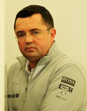Presente nos testes do Bahrein, Eric Boullier admite que já atua como chefe de equipe da McLaren (Foto: Getty Images)