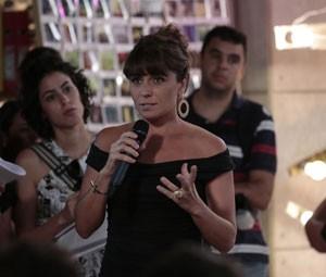 Giovanna Antonelli comentou a possibilidade de fazer um beijo gay (Foto: Felipe Monteiro/TV Globo)