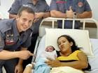 Mulher dá à luz dentro de viatura do Corpo de Bombeiros em Adamantina