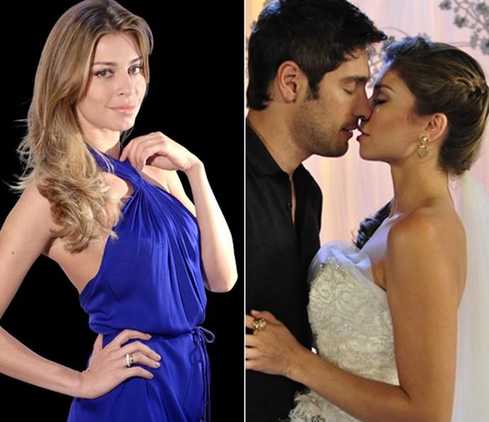 Grazi Massafera Aquele Beijo (Foto: TV Globo)