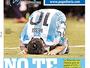 Todos por Messi: jornais, atletas e fãs pedem para craque seguir na seleção