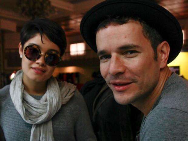 Sophie Charlotte e Daniel de Oliveira chegaram juntos a Gramado (RS) (Foto: Cleiton Thiele/PressPhoto)
