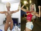 Ex-fortona do carnaval transforma corpo e vira musa da cinturinha