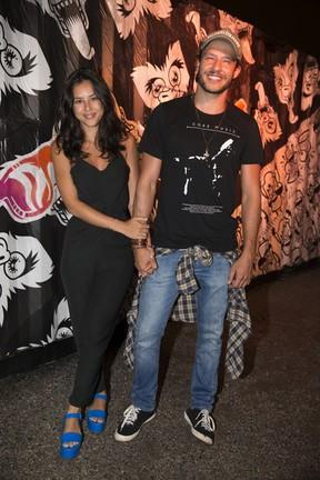 Yanna Lavigne e Nando Rodrigues em festa no Rio (Foto: Felipe Panfili/ Divulgação)