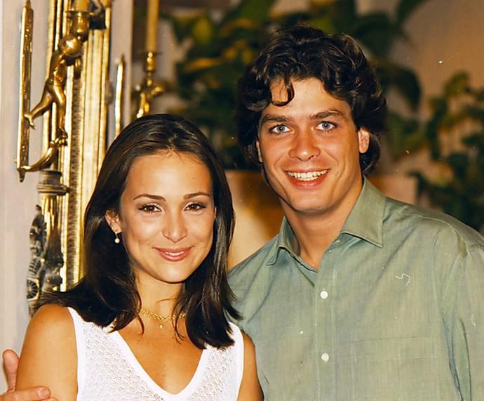 Gabriela Duarte e Fábio Assunção formavam casal em 'Por Amor' (Foto: Cedoc / TV Globo)
