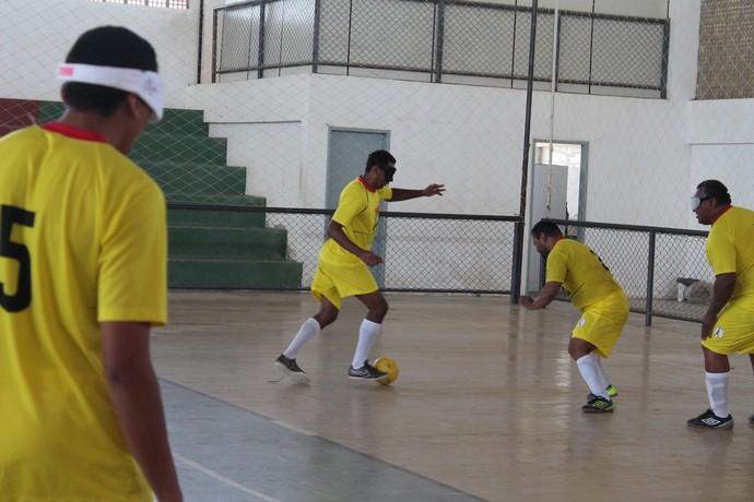 Nonato, Futebol de 5, Orocó, ADVP (Foto: Emerson Rocha)