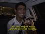 Thiago ri e se emociona ao escutar mãe por telefone após vencer Tsonga