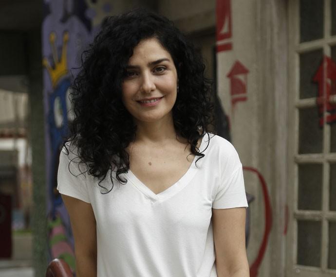 Letícia Sabatella participa de 'Malhação' (Foto: Raphael Dias/Gshow)