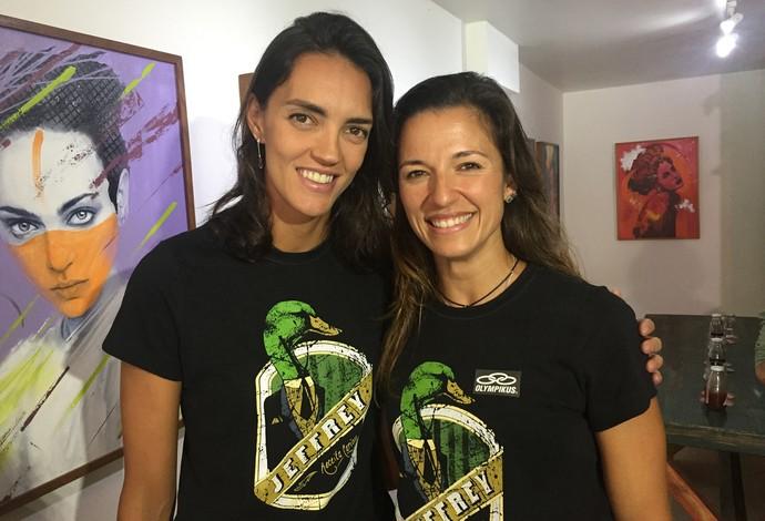 Fernanda Berti e Bárbara Seixas: nova parceria, receita antiga de sucesso (Foto: Gabriel Fricke)