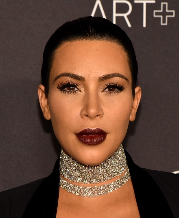 Kim Kardashian no LACMA (Foto: Frederick M. Brown / GETTY IMAGES NORTH AMERICA / AFP)