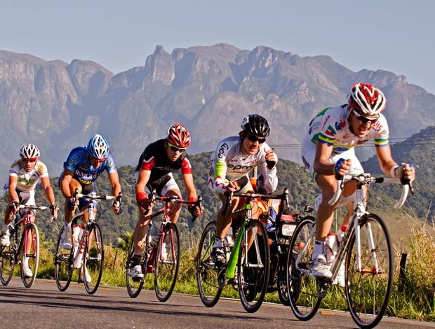 Ciclista quarta etapa Tour do Rio ciclismo (Foto: Hudson Malta)