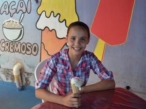 sorvete telex (Foto: Tácita Muniz)