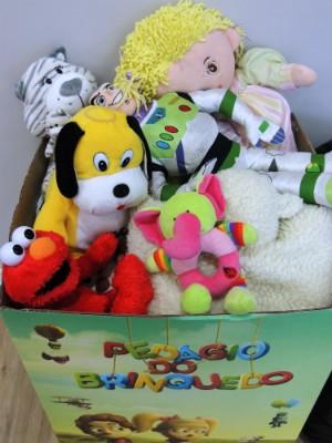 Doe você também para o Pedágio do Brinquedo (Foto: Divulgação/RBS TV)