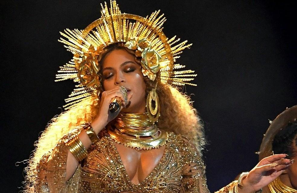Beyoncé: segundo lugar no ranking da Forbes (Foto: Reprodução/Twitter)