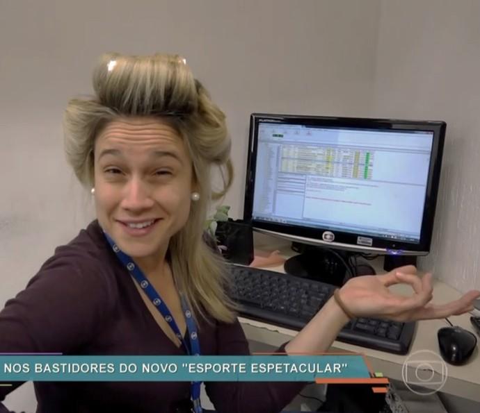 94d5d46b7 Fernanda Gentil e Flávio Canto mostram bastidores de estreia no ...