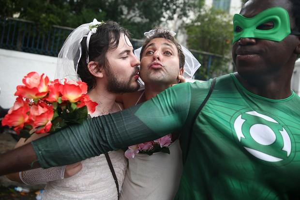 Mas é Carnaval... (Foto: Getty Images)