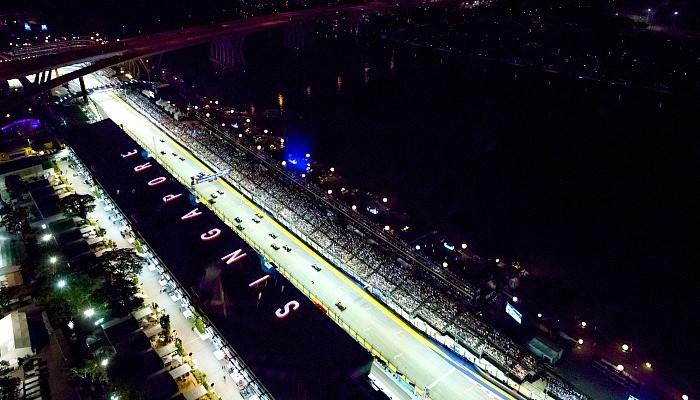 Circuito de rua de Marina Bay, sede do GP de Cingapura