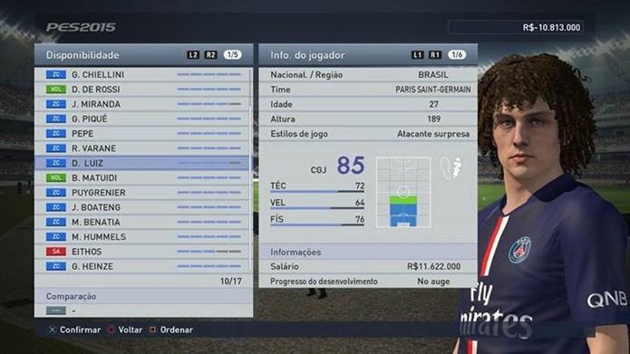David Luiz é ótima opção também no ataque (Foto: Reprodução/Thiago Barros)