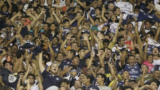 Torcida do Remo vem sendo destaque na Copa do Brasil Sub-20 (Foto: Marcelo Seabra/O Liberal)