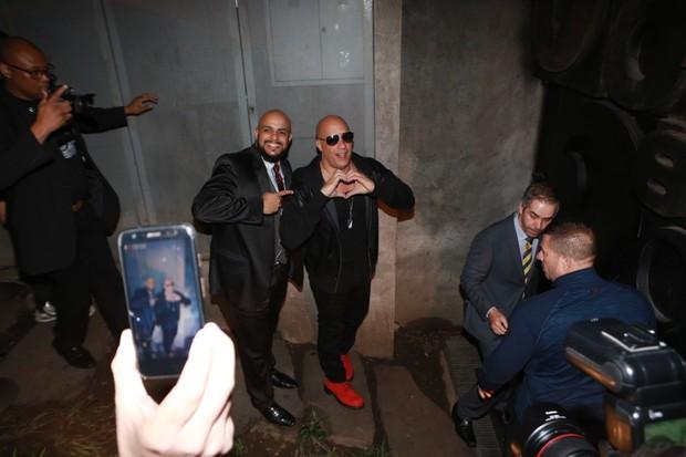 Vin Diesel (Foto: Dilson Silva e Gabriel Reis / AgNews)