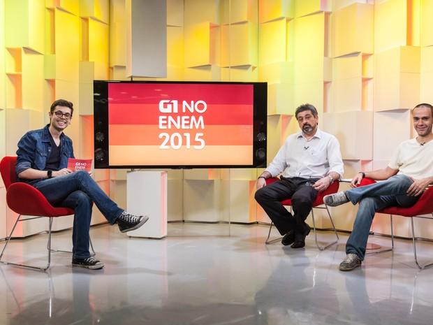 G1 no ENEM 2015 (Foto: Marcelo Brandt/G1)