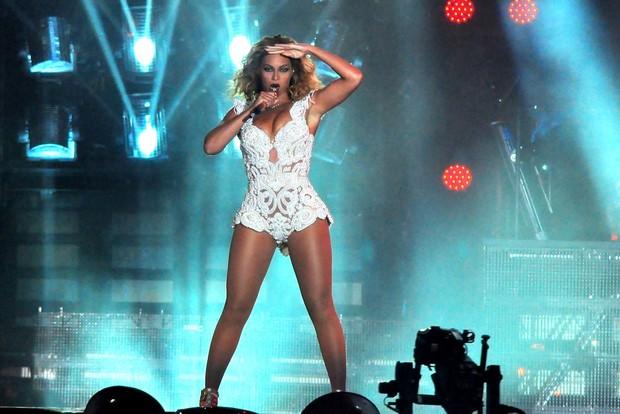 Beyoncé no Rock in Rio (Foto: Roberto Teixeira / EGO)
