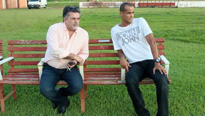 Adir Leme Rivaldo Mogi Mirim Sapo (Foto: Geraldo Bertanha / Mogi Mirim EC)