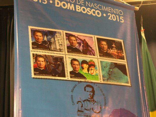 Seis selos comemorativos foram lançados em Manaus (Foto: Luis Henrique Oliveira/G1 AM)