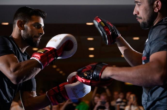 Yair Rodríguez Treino Aberto UFC: Rodríguez x Caceres