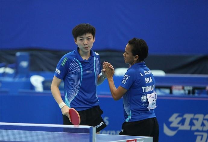 Li Gui e Ligia Silva estão na final do Campeonato Latino-Americano (Foto: Divulgação)