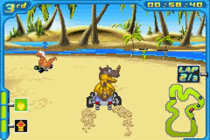 Digimon Racing era de corrida de karts (Foto: Divulgação)