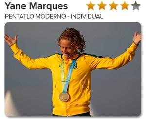 Peso do Ouro - Yane Marques - Pentatlo moderno - Individual (Foto: GloboEsporte.com)