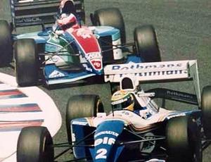 Rubinho publica foto de Senna na Williams (Foto: Reprodução / Instagram)