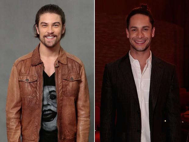 Raphael Sander (Leo) e Rainer Cadete (Visky) (Foto: Felipe Monteiro/ Gshow)