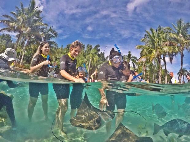 Thyane Dantas e Wesley Safadão viajam em família (Foto: Reprodução/Instagram)