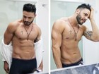 Rodrigo Marim posa sexy e se intitula: 'Sertanejo, romântico e safado'