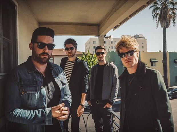 A banda irlandesa de rock Kodaline (Foto: Divulgação)